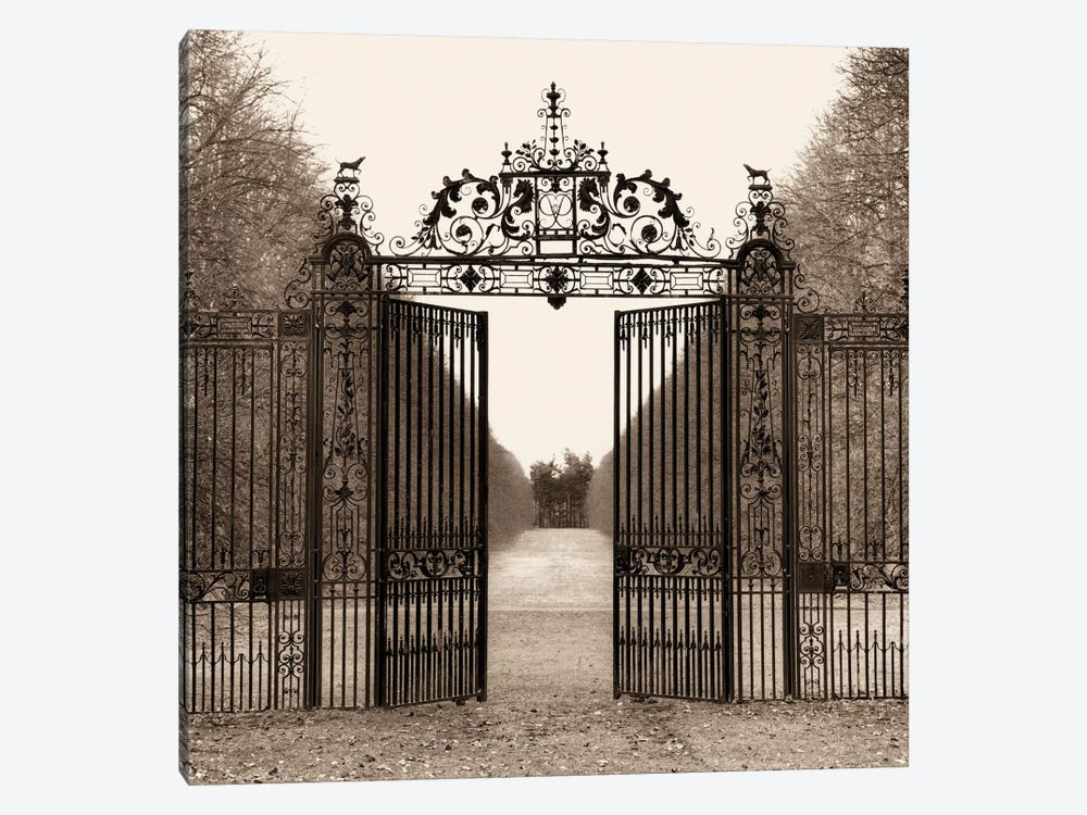 Hampton Gate by Alan Blaustein 1-piece Canvas Wall Art