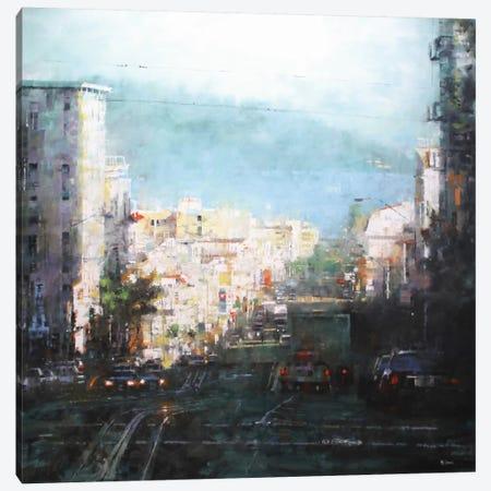Bay Mist Canvas Print #ICS360} by Mark Lague Art Print