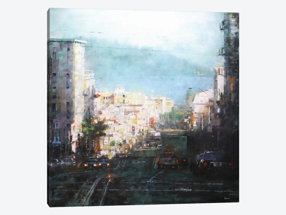 Bay Mist by Mark Lague 1-piece Canvas Wall Art