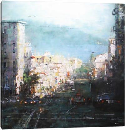 Bay Mist Canvas Art Print