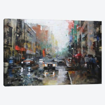 Montreal Rain Canvas Print #ICS361} by Mark Lague Art Print