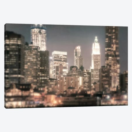 In a New York Minute 3-Piece Canvas #ICS377} by Natalie Mikaels Canvas Print