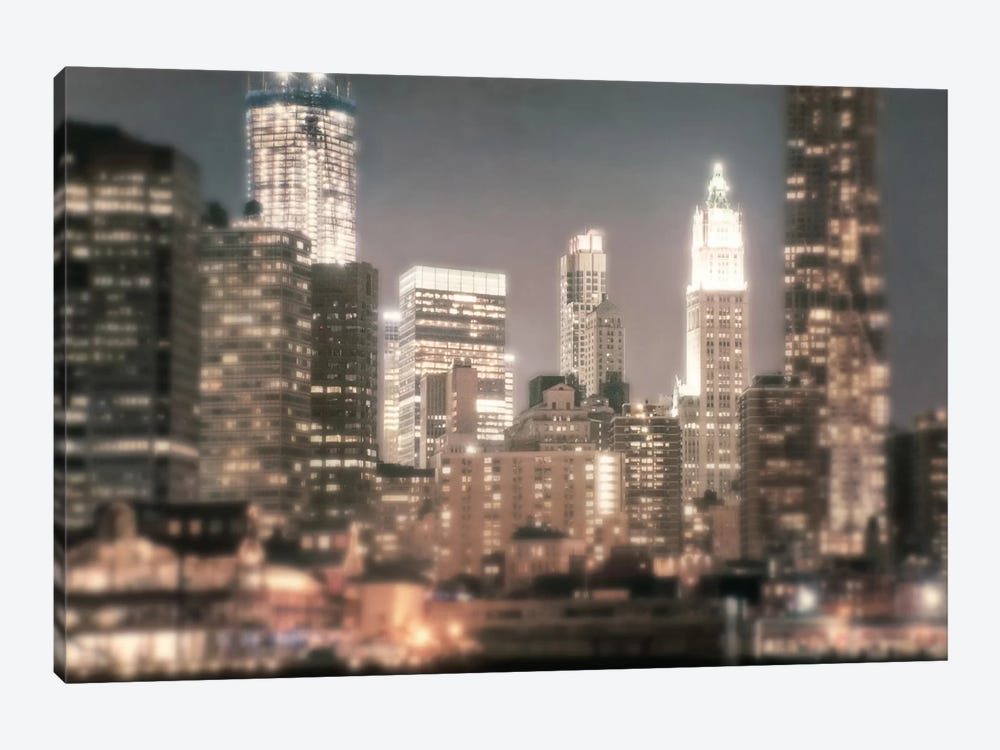 In a New York Minute by Natalie Mikaels 1-piece Canvas Artwork