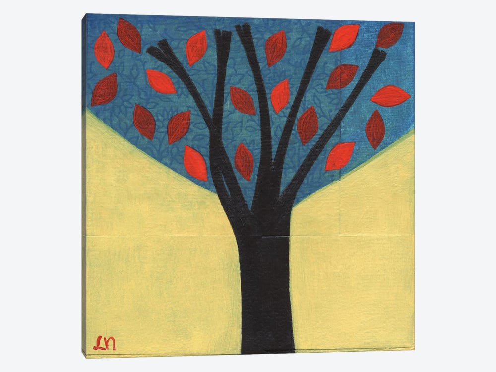 Tree / 122 by Laura Nugent 1-piece Canvas Wall Art