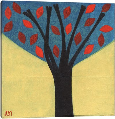 Tree / 122 Canvas Art Print