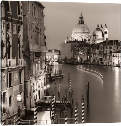 Ponte Accademia Canvas Art Print