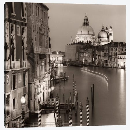 Ponte Accademia Canvas Print #ICS37} by Alan Blaustein Canvas Print