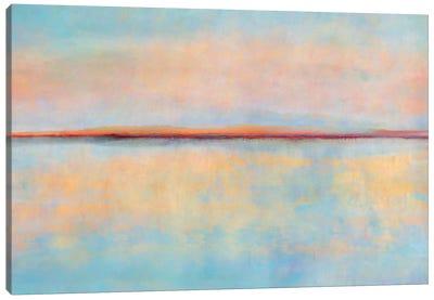 After Sunset Canvas Art Print