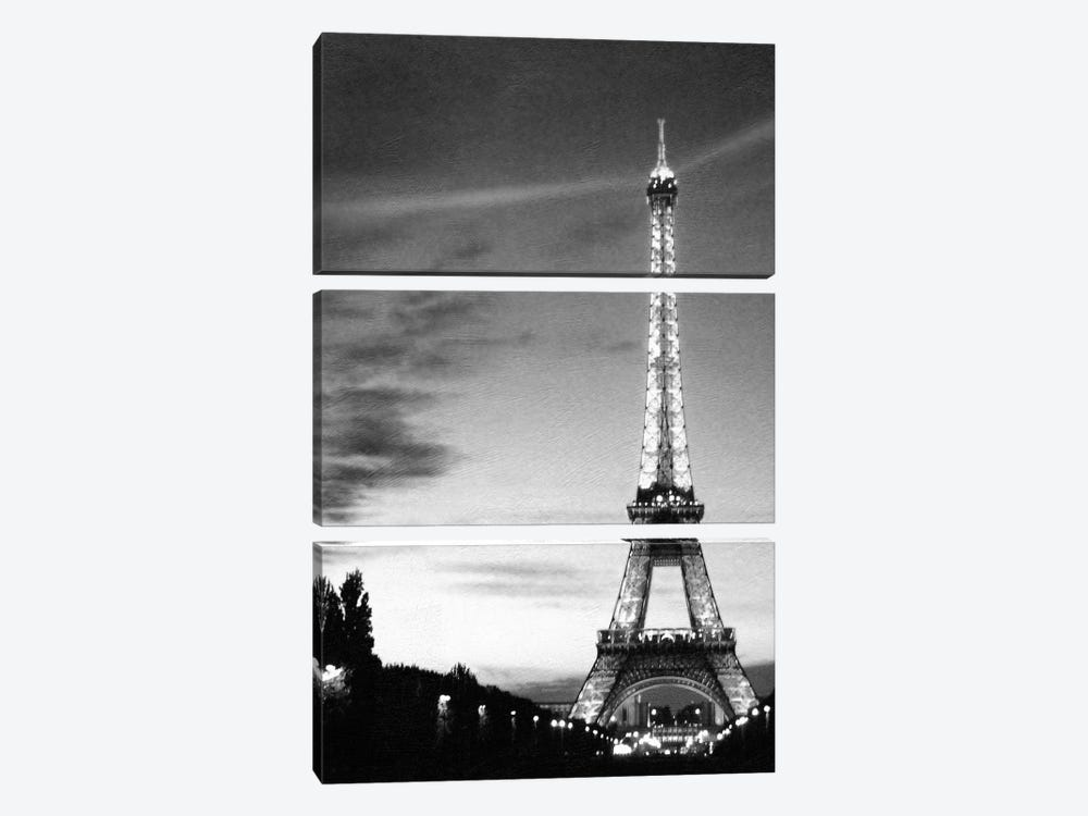 Eiffel Tower by PhotoINC Studio 3-piece Art Print