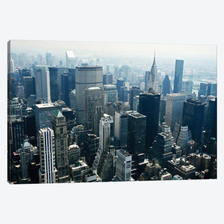 Manhattan Canvas Print #ICS418} by PhotoINC Studio Art Print