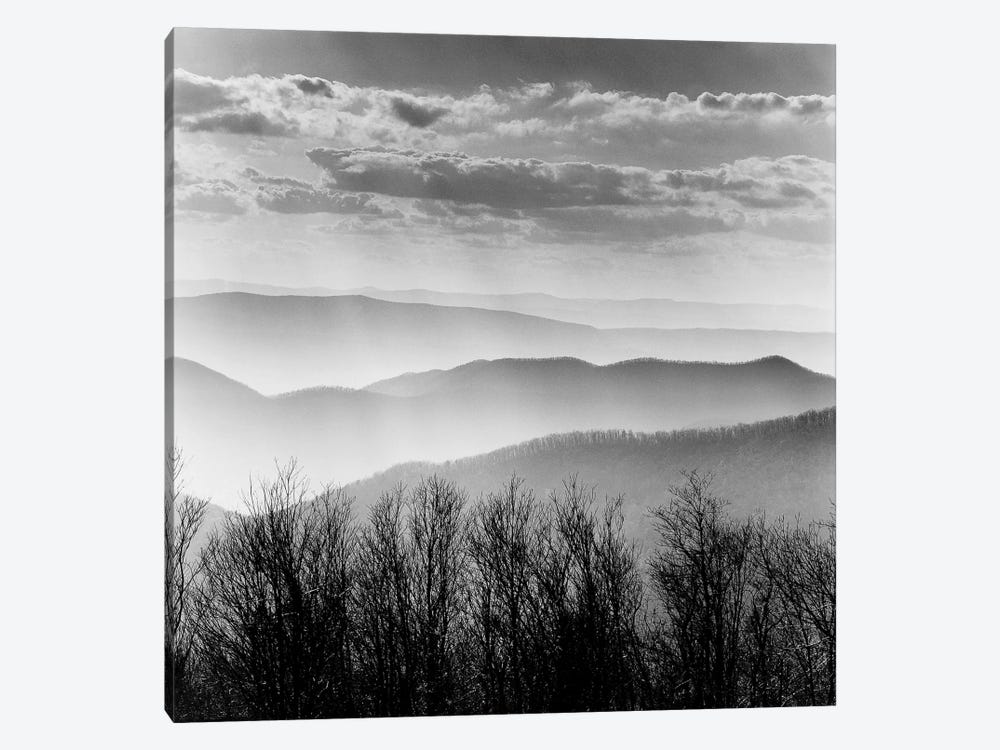 Misty Mountains by PhotoINC Studio 1-piece Canvas Art Print