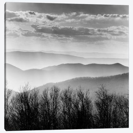 Misty Mountains Canvas Print #ICS419} by PhotoINC Studio Canvas Print