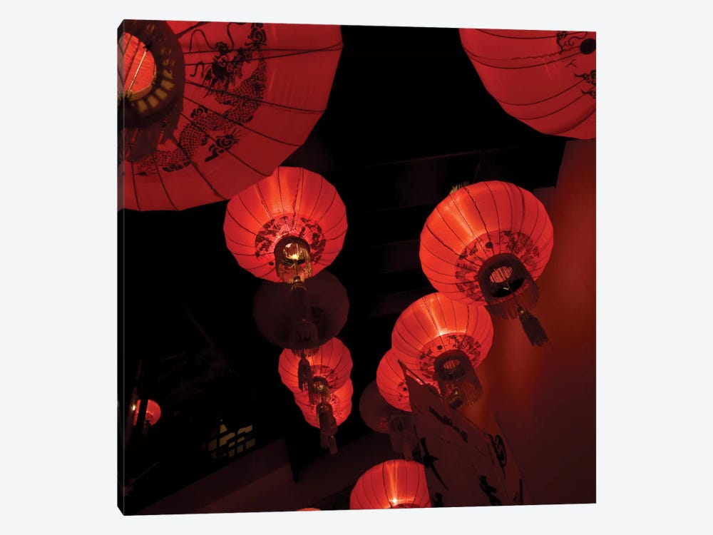 Orient Lamps by PhotoINC Studio 1-piece Canvas Wall Art