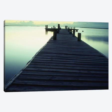 Pier 1 Canvas Print #ICS422} by PhotoINC Studio Canvas Wall Art