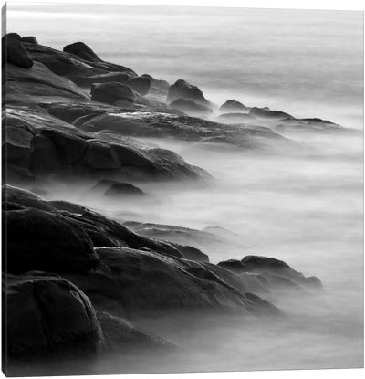 Rocks in Mist 1 Canvas Art Print
