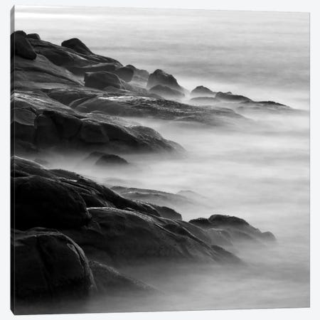 Rocks in Mist 1 Canvas Print #ICS426} by PhotoINC Studio Art Print