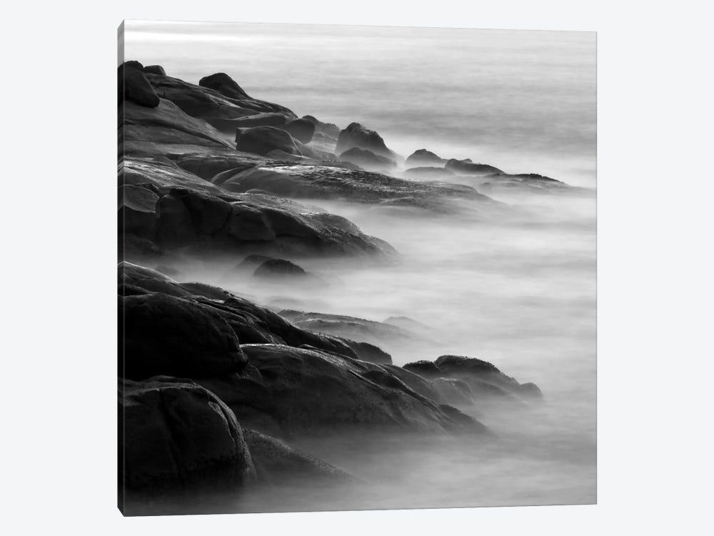 Rocks in Mist 1 by PhotoINC Studio 1-piece Canvas Print