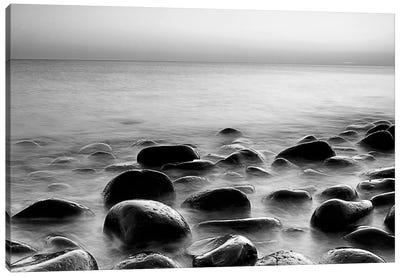 Rocks in Mist 3 Canvas Art Print