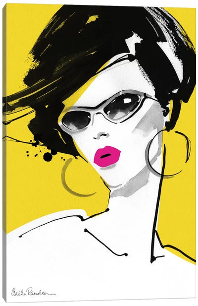 Sunglasses Canvas Art Print