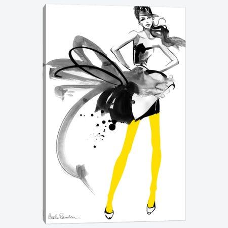 Yellow Tights Canvas Print #ICS444} by Aasha Ramdeen Canvas Print