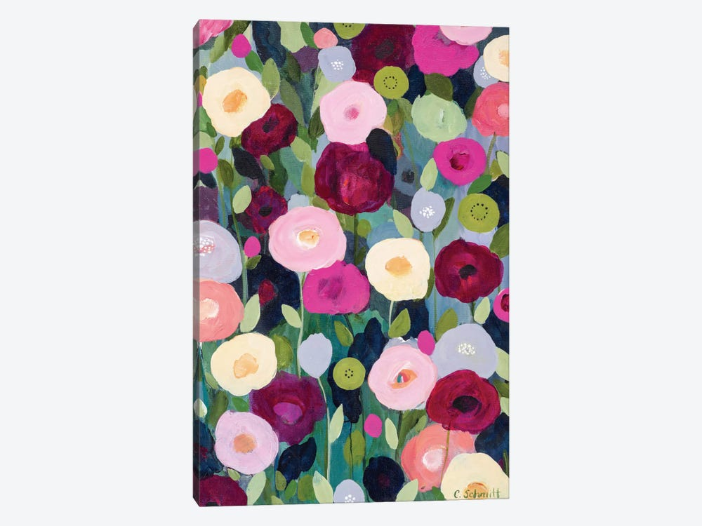 Night Garden by Carrie Schmitt 1-piece Canvas Wall Art
