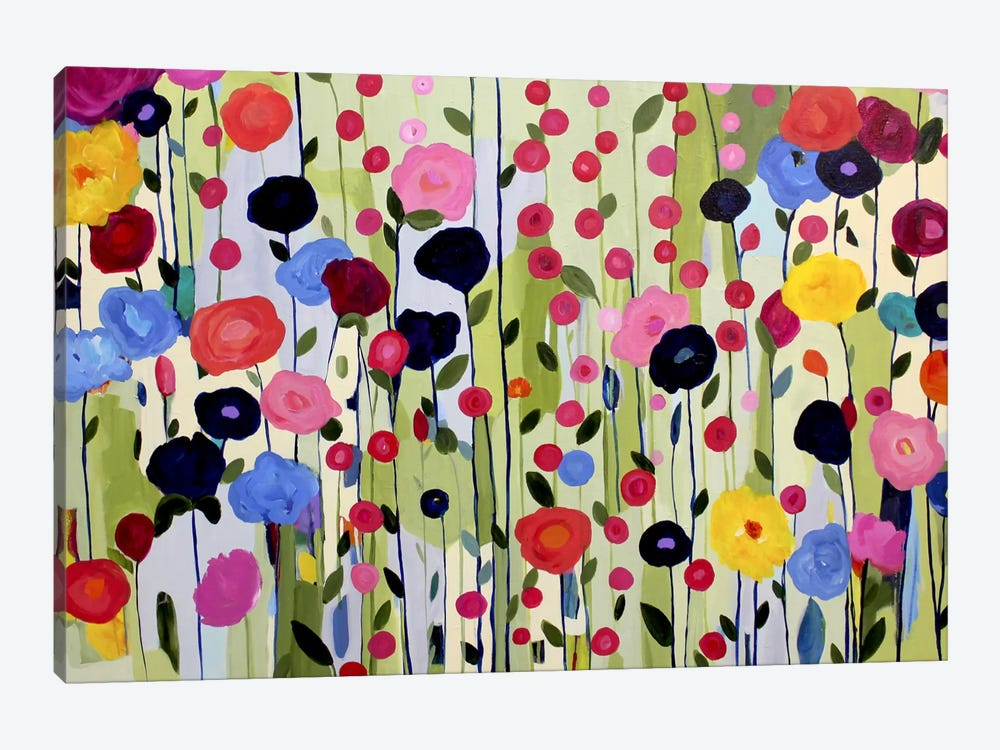 She Found a Place to Bloom by Carrie Schmitt 1-piece Art Print