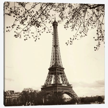 Tour Eiffel Canvas Print #ICS45} by Alan Blaustein Canvas Wall Art