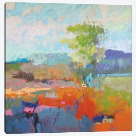 Colorfield XII Canvas Print #ICS464} by Jane Schmidt Canvas Art Print