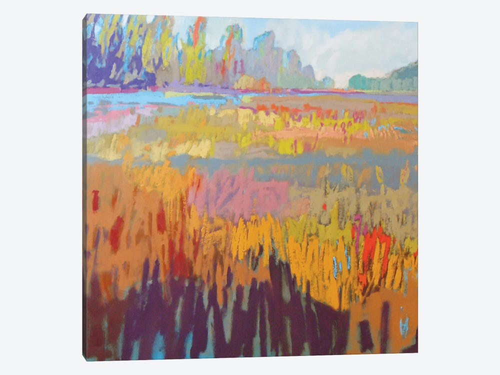 Colorfield XXII by Jane Schmidt 1-piece Canvas Wall Art