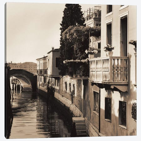 Ponti di Venezia No. 5 Canvas Print #ICS46} by Alan Blaustein Canvas Wall Art