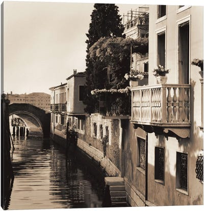 Ponti di Venezia No. 5 Canvas Art Print