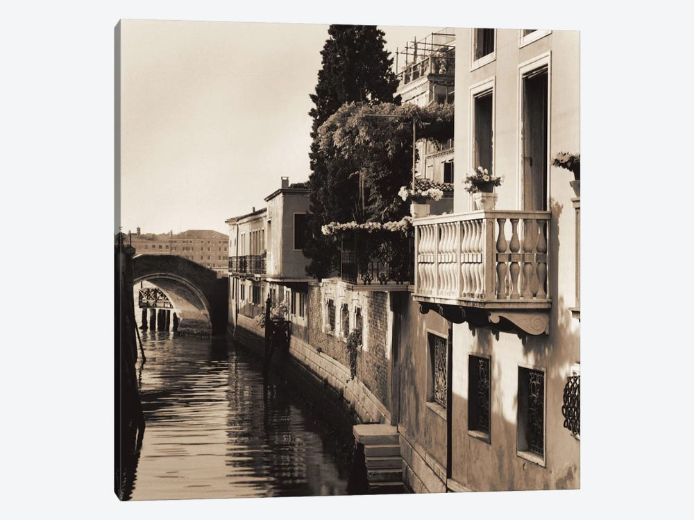 Ponti di Venezia No. 5 by Alan Blaustein 1-piece Canvas Wall Art