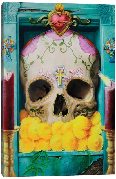 Calavera Canvas Art Print
