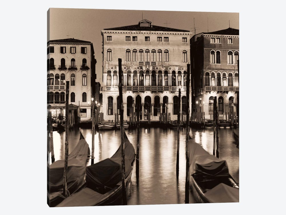 Il Gran Canale di Notte by Alan Blaustein 1-piece Canvas Art