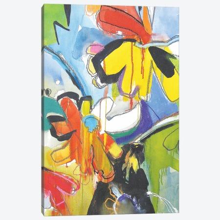 Fresh Daisies Canvas Print #ICS490} by Emily Weil Art Print
