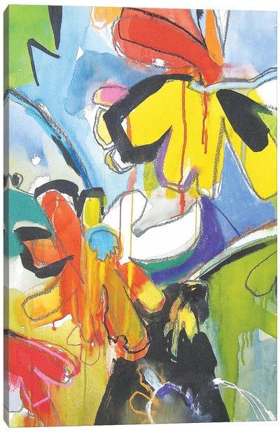 Fresh Daisies Canvas Art Print