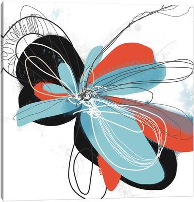 The Flower Dances I Canvas Art Print