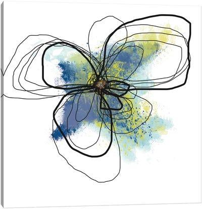 Azure Petals II Canvas Print #ICS498