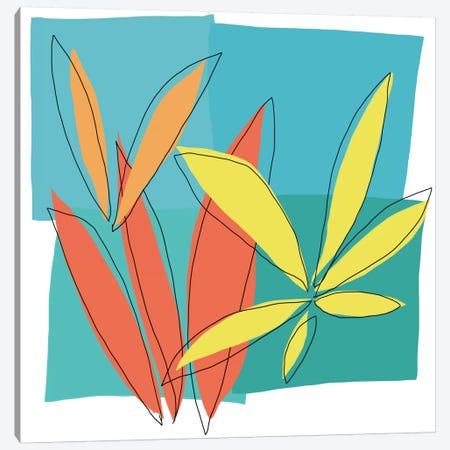 Grasses I Canvas Print #ICS499} by Jan Weiss Canvas Print
