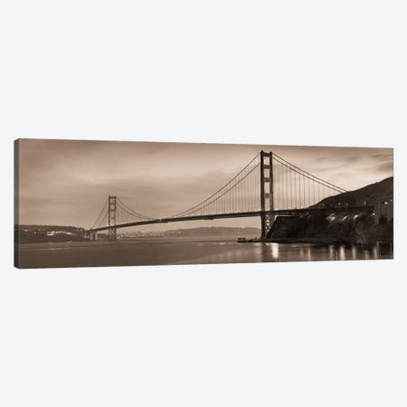 Golden Gate Bridge II Canvas Print #ICS49} by Alan Blaustein Canvas Art Print