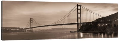 Golden Gate Bridge II Canvas Art Print