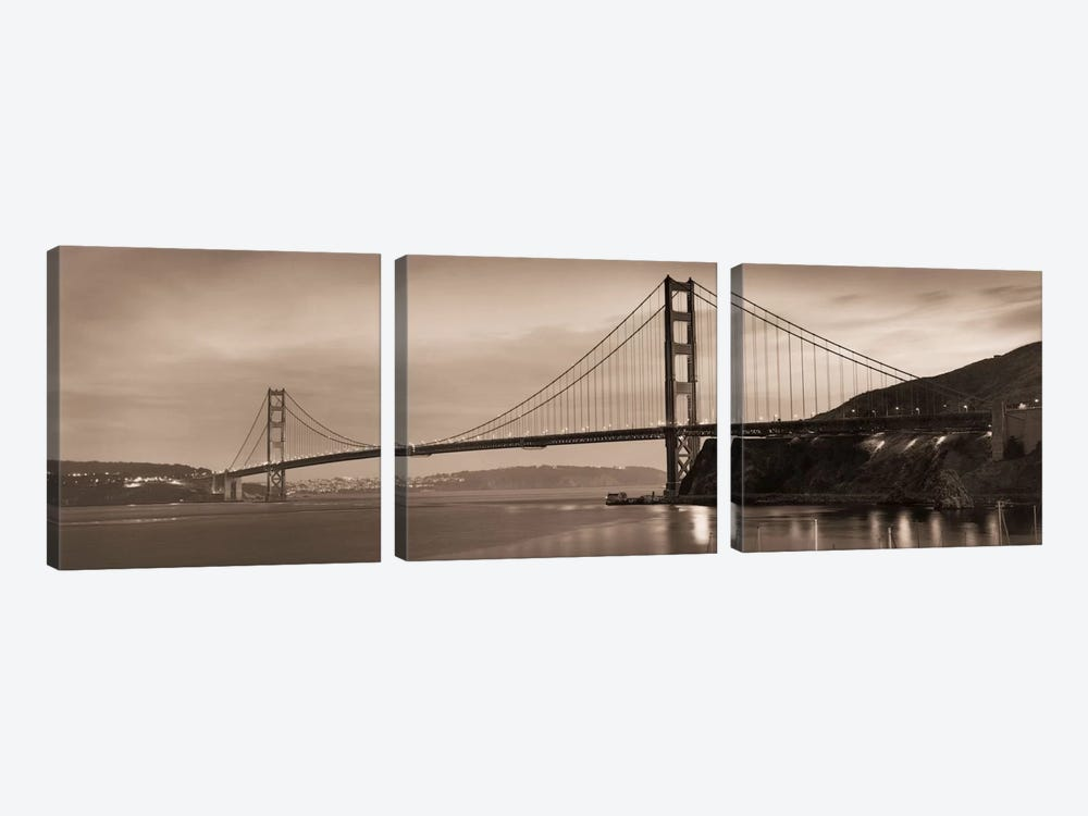 Golden Gate Bridge II by Alan Blaustein 3-piece Art Print
