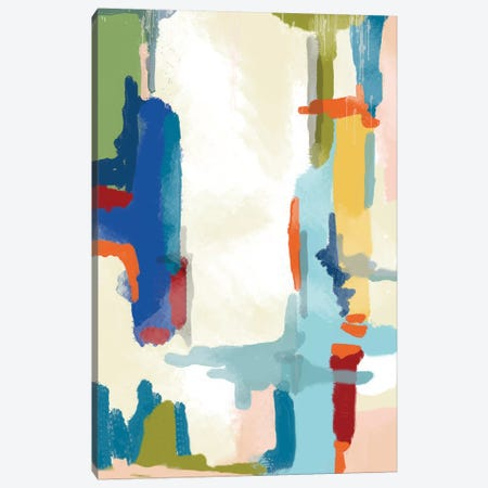 Deconstructed Landscape I 3-Piece Canvas #ICS501} by Jan Weiss Art Print