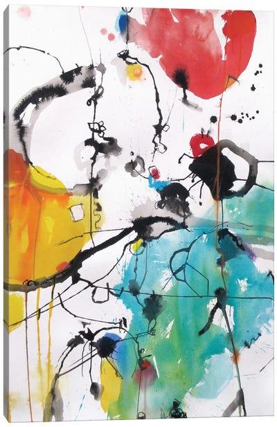 Drifting Continents Canvas Art Print