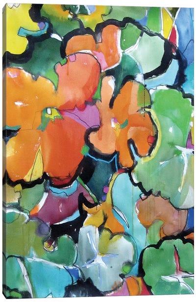 Nasturtiums Canvas Art Print