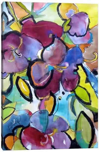 Winter Purple Canvas Art Print