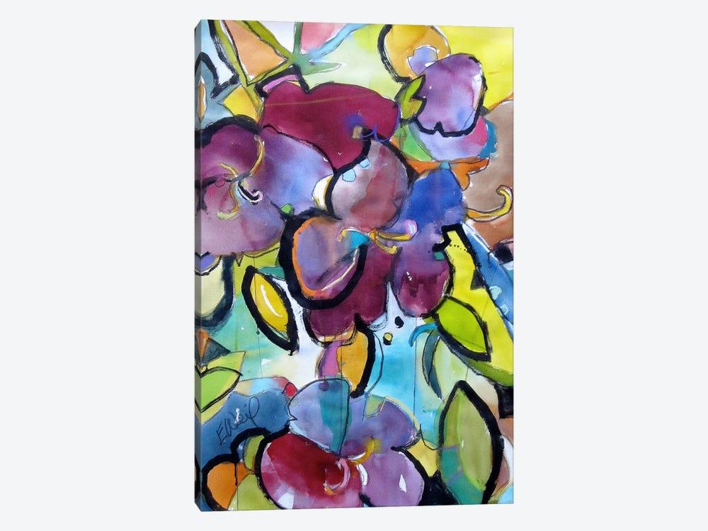 Winter Purple by Emily Weil 1-piece Canvas Art