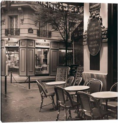 Café, Montmartre Canvas Print #ICS50
