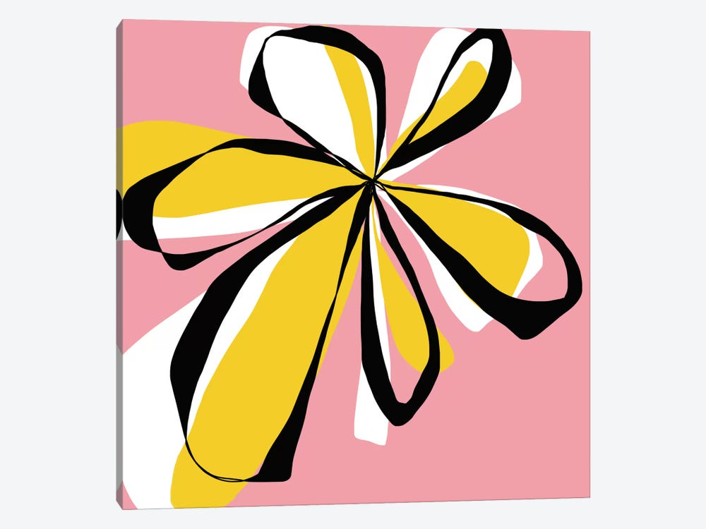 Oh So Pretty – Pink by Jan Weiss 1-piece Canvas Print