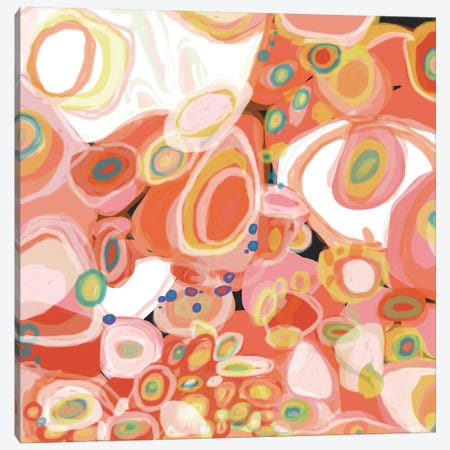 Watermelon Cocktail Canvas Print #ICS512} by Jan Weiss Canvas Wall Art